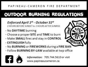 Outdoor Burning Regulations