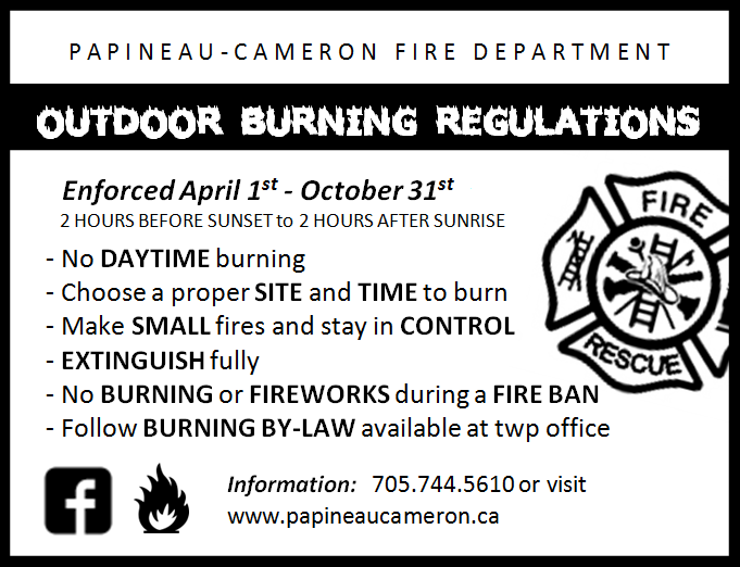 Outdoor Burning Regulations